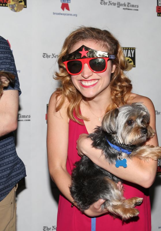 Christy Altomare – Broadway Barks Animal Adoption Event in New York 07/08/2017