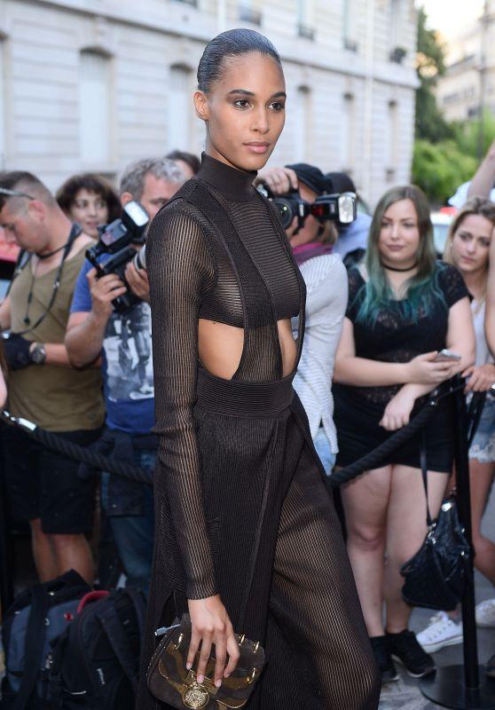 Cindy Bruna – Vogue Party at Paris Fashion Week 07/04/2017