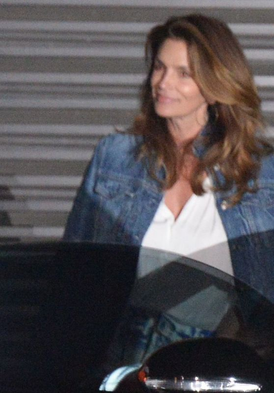 Cindy Crawford and Rande Gerber - Going For Dinner at Nobu Malibu in LA 06/30/2017