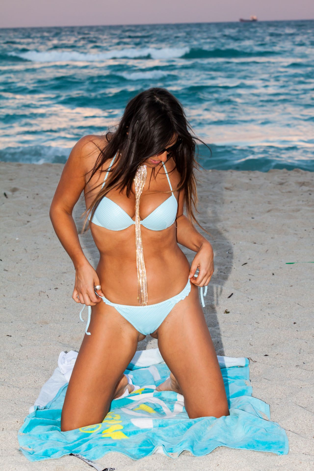 Claudia Romani in Bikini on South Beach in Miami 2 Pic 15 of 35