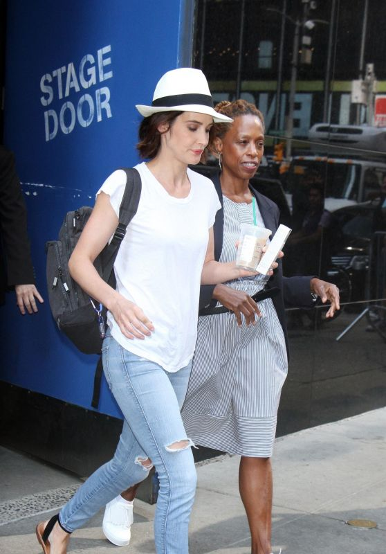 Cobie Smulders - Out in New York 07/13/2017