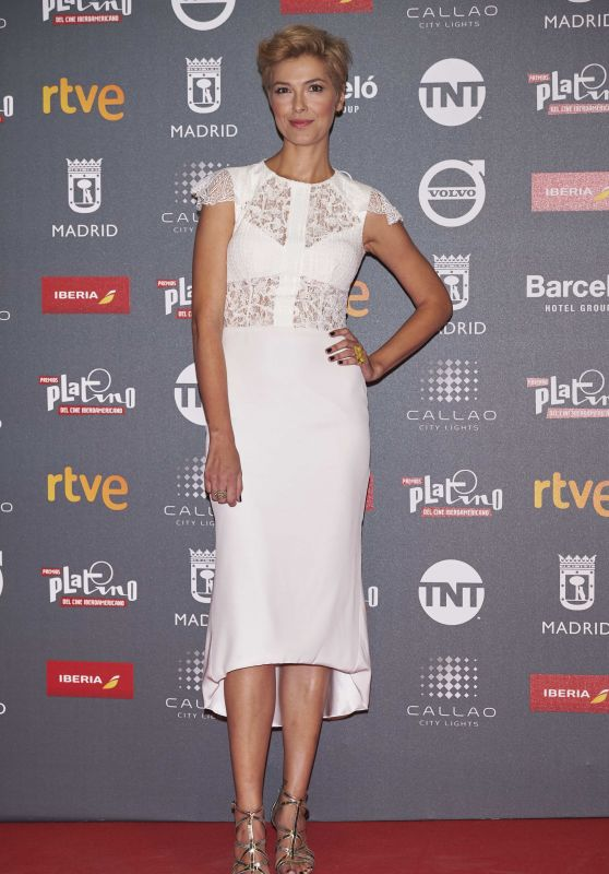 Cristina Urgel – Platino Awards in Madrid 07/20/2017