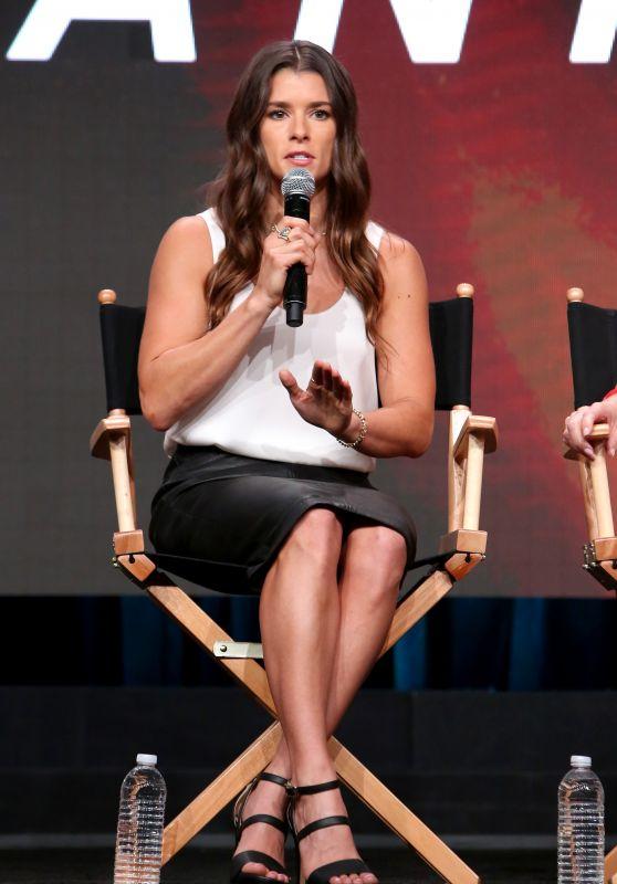 """Danica Patrick - EPIX """"Danica"""" TV Show Panel at TCA Summer Press Tour in LA 07/25/2017"""