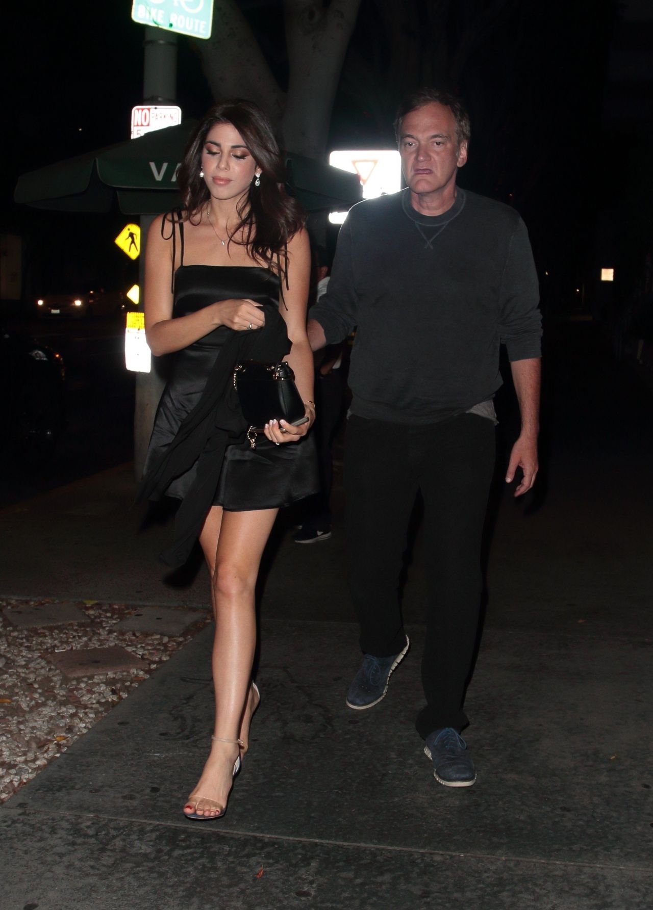Daniella Pick Night Out With Quentino Tarantino Madeo In