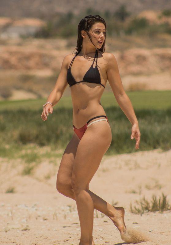 Danielle Campbell Bikini Candids - Cabo, Mexico, June 2017