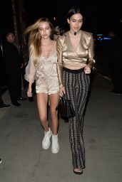 Delilah Hamlin and Amelia Hamlin Have Dinner at Tao Restaurant in LA 07/11/2017