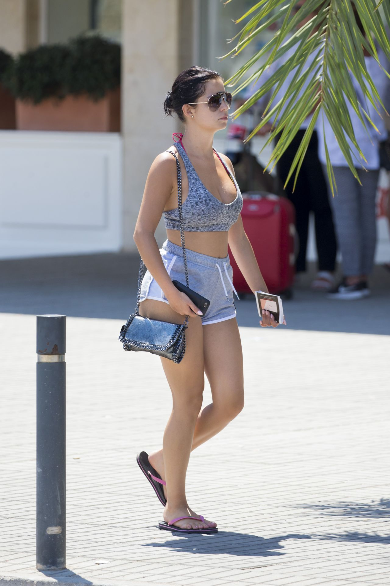 Demi Rose Summer Street Style Strolls In Ibiza 07 29 2017