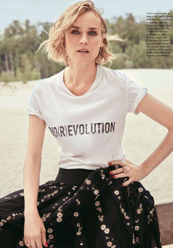 Diane Kruger - ELLE Magazine France July 2017 Issue