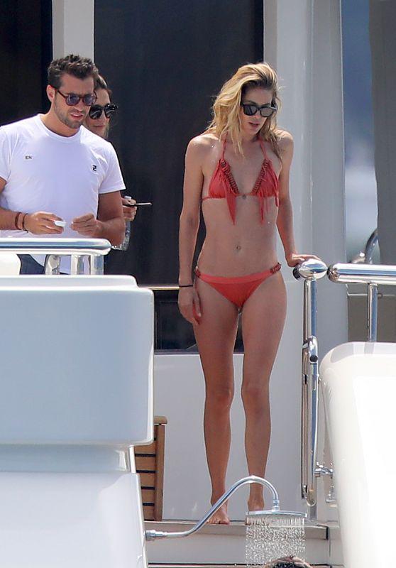 Doutzen Kroes in Bikini on a Super Yacht - South of France 07/27/2017