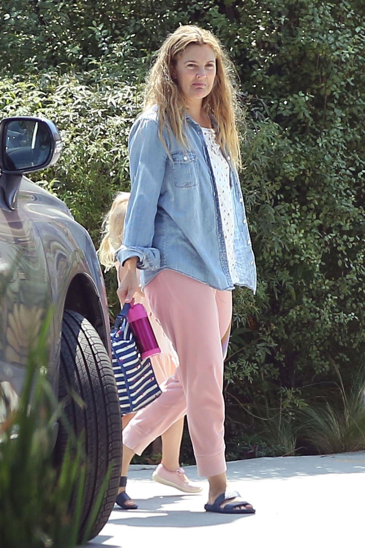 Drew Barrymore Street Style - Los Angeles 07/13/2017