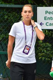 Elena Vesnina in Wimbledon, London 07/04/2017
