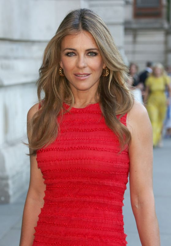 Elizabeth Hurley - The Victoria and Albert Museum Summer Party in London 07/21/2017