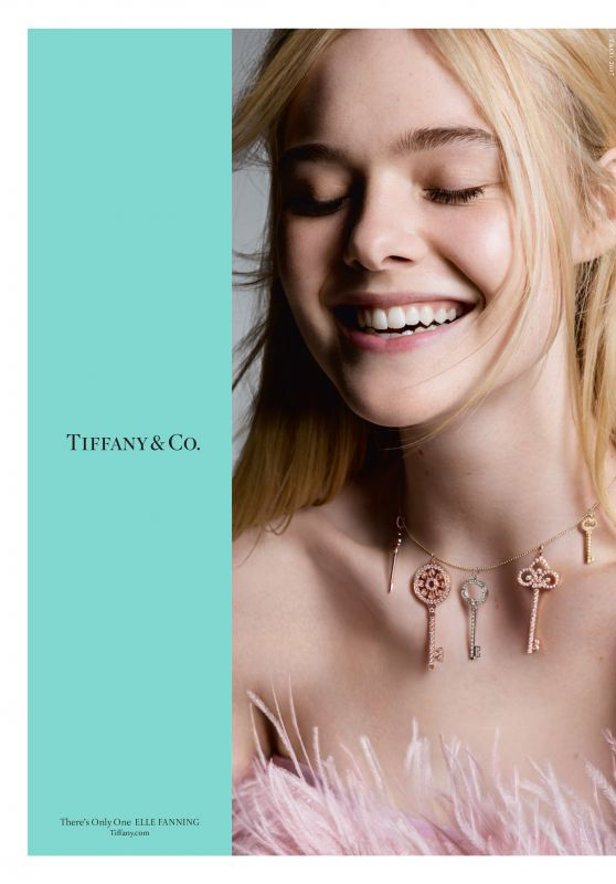 Elle Fanning Tiffany Amp Co Fall Campaign 2017