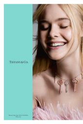 Elle Fanning - Tiffany & Co. Fall Campaign 2017