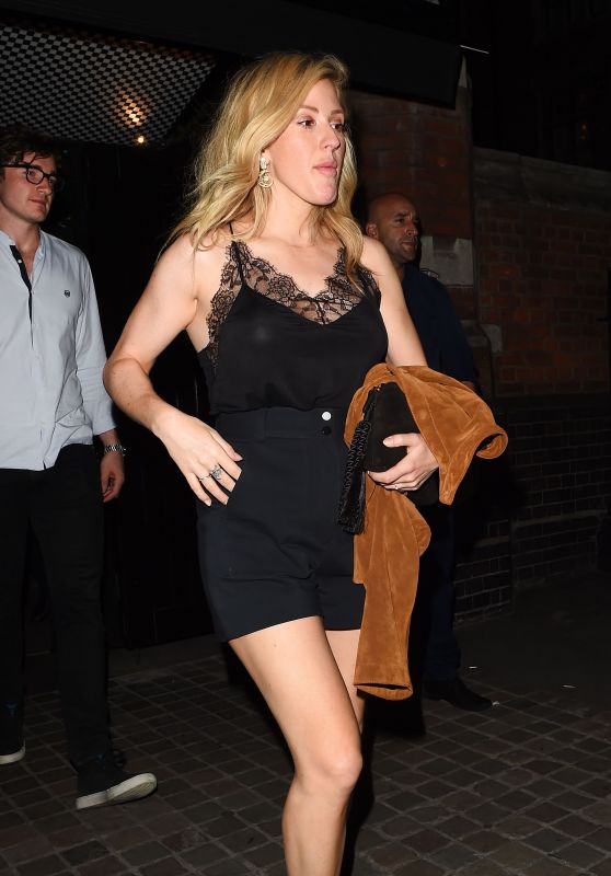 Ellie Goulding - Night Out in London 07/07/2017