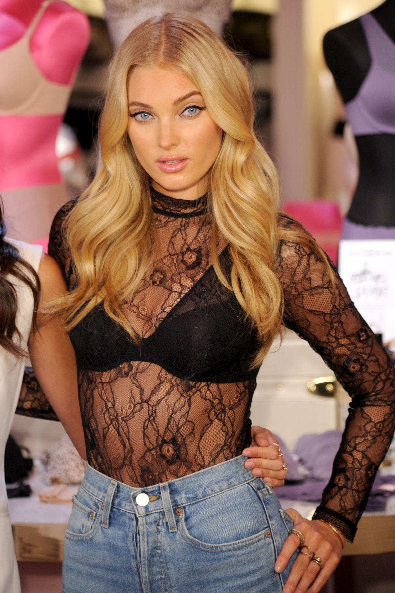 cfcaa05ed6 Elsa Hosk – Celebrate the Victoria s Secret T-Shirt Bra at Victoria s  Secret in NYC 07 18 2017