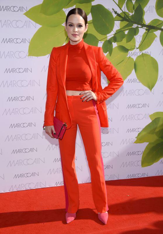 Emilia Schüle at Riani Show – Mercedes Benz Fashion Week Berlin 07/04/2017