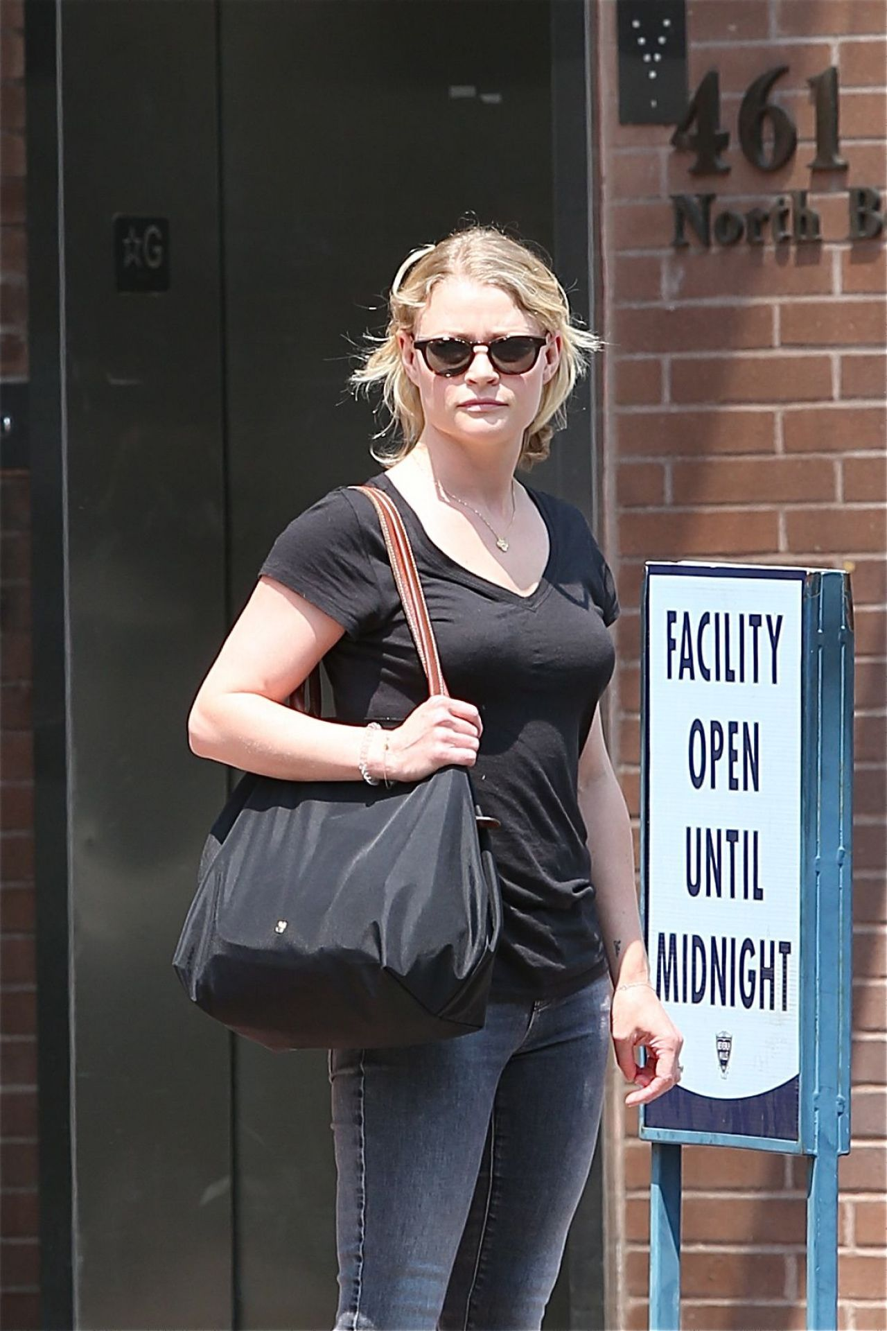 Emilie de Ravin Casual Style - Beverly Hills 07/12/2017
