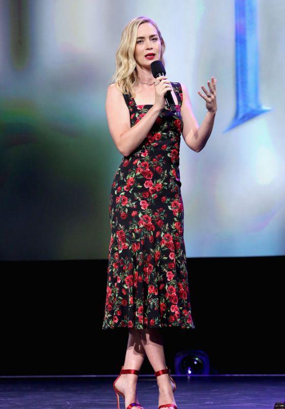 Emily Blunt – Disney's D23 EXPO 2017 in Anaheim 07/15/2017