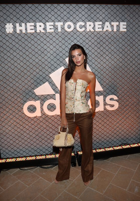 Emily Ratajkowski - Adidas and The Manchester United Squad Event in Hollywood 07/15/2017