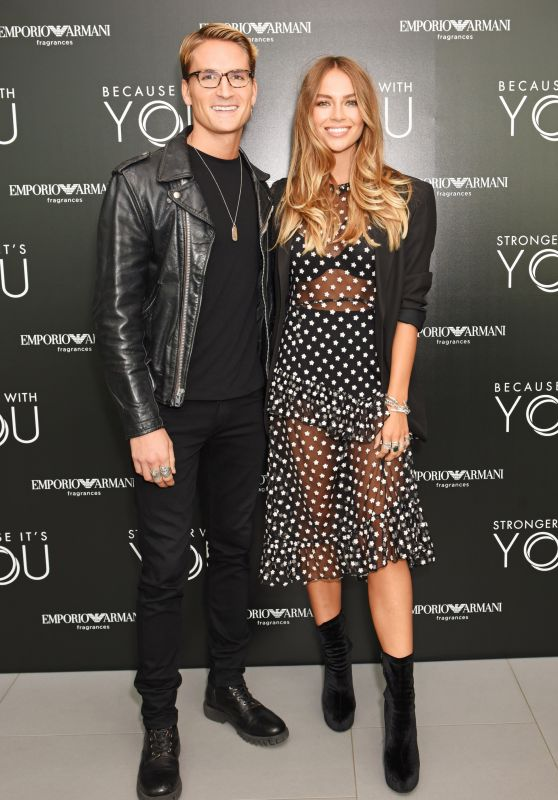 Emma Louise Connolly – Emporio Armani YOU Fragrance Launch in London 07/20/2017