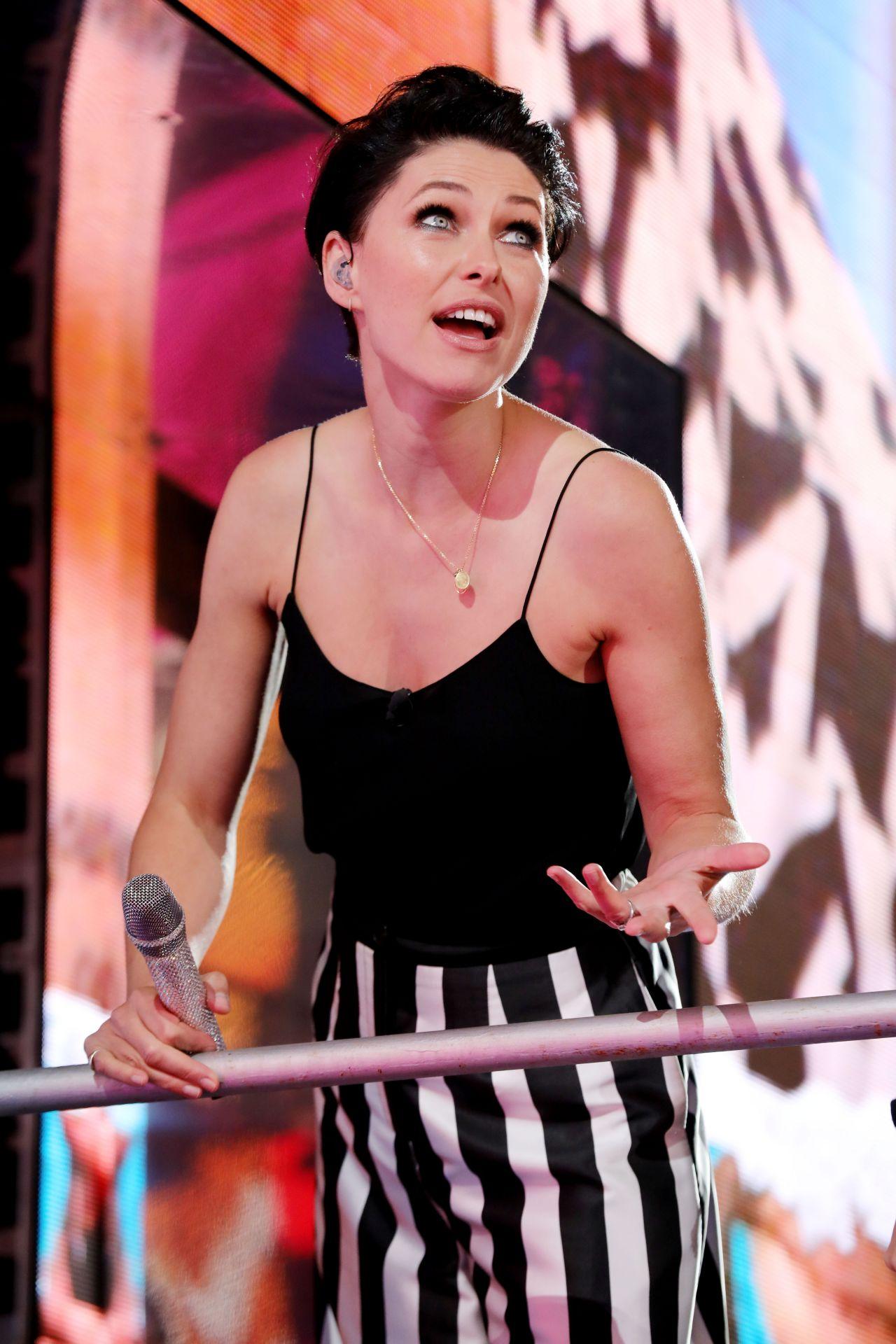 Emma Willis: Celebrity Big Brother Eviction In Borehamwood