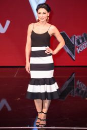 Emma Willis – The Voice Kids Final Photocall in London, UK 07/13/2017