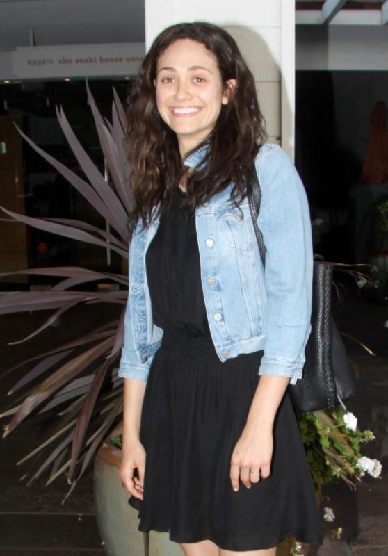 Emmy Rossum - Night Out at Vibrato, Los Angeles 07/18/2017