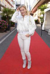 Eva Habermann at Riani Show – Mercedes Benz Fashion Week Berlin 07/04/2017