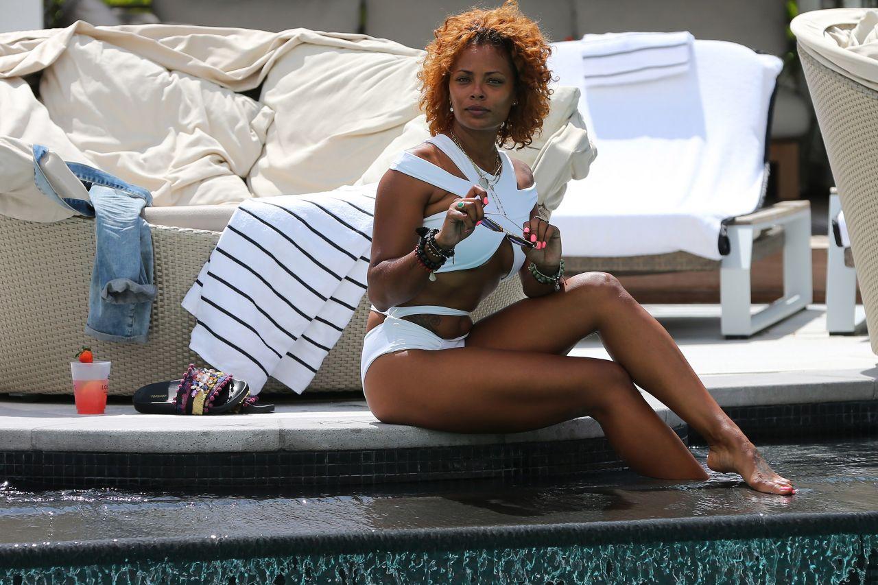Eva Marcille In A Keva J Bikini South Beach Hotel In