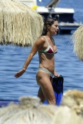 Fiona Swarovski in a Bikini - Beach in Hotel Regina, Ischia, Italy 07/10/2017