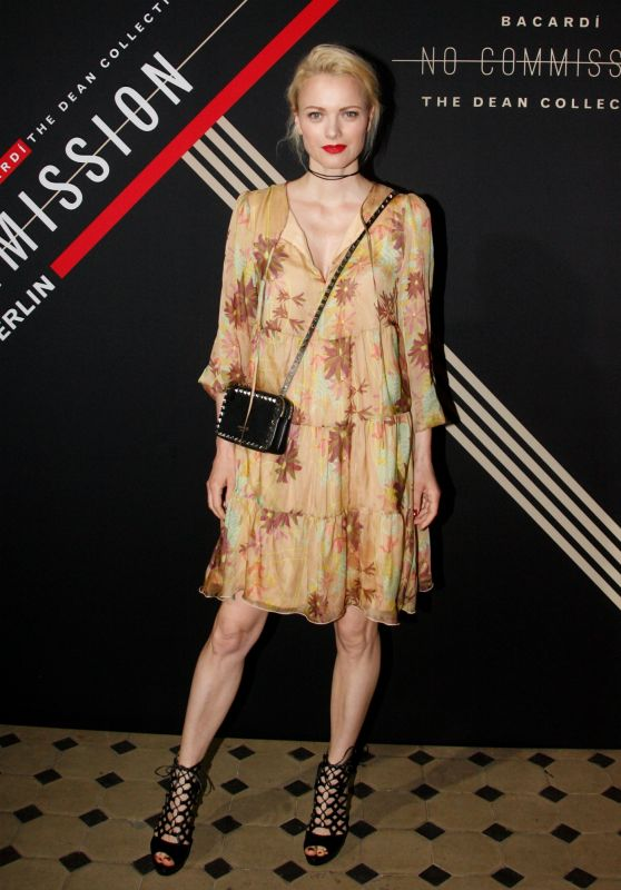 Franziska Knuppe – The Dean Collection X Bacardi Bring Innovative Art And Music Experience To Berlin 06/30/2017
