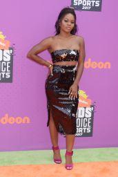 Gabby Douglas – Nickelodeon Kids' Choice Sports Awards in Los Angeles 07/13/2017