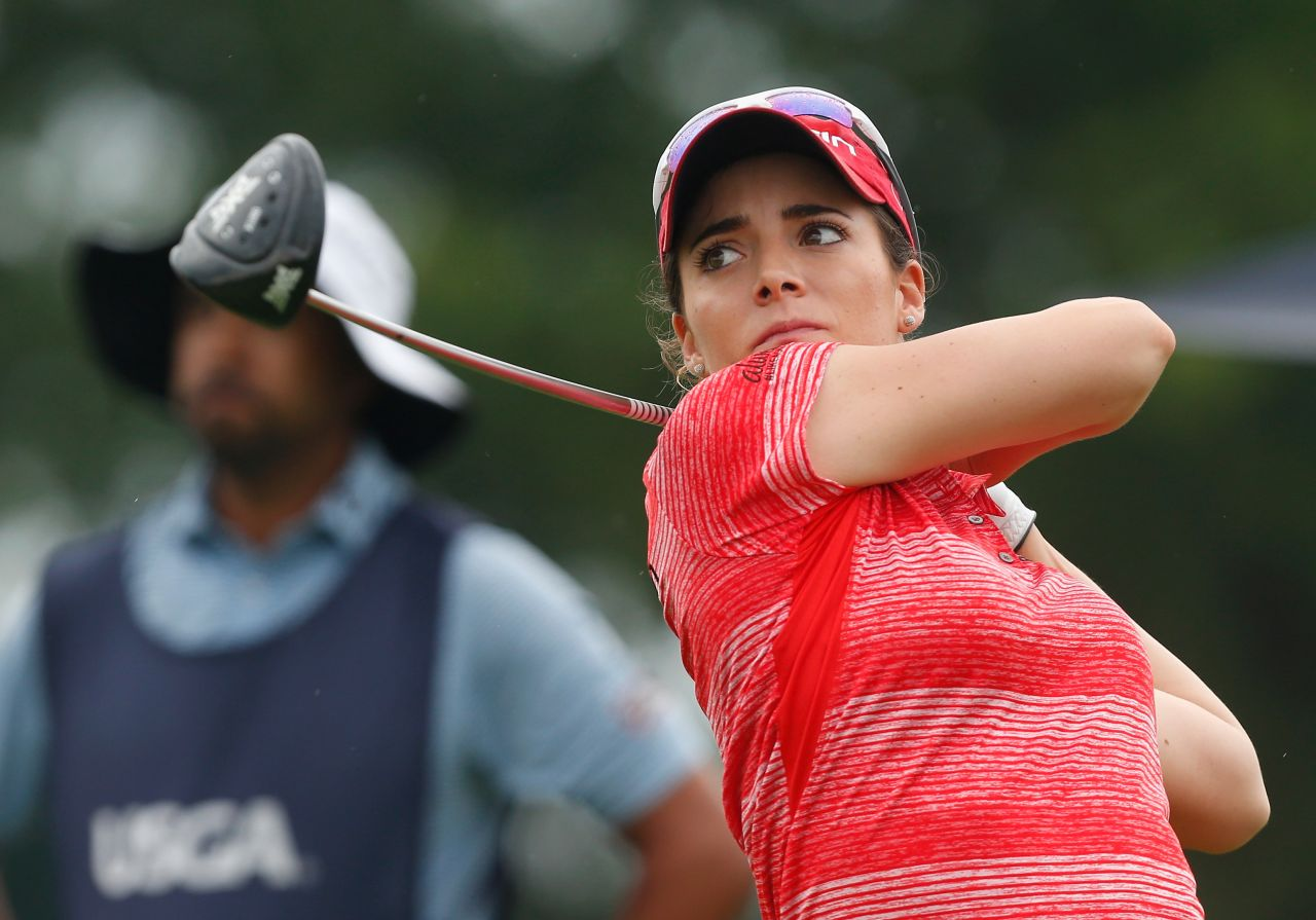 Gaby Lopez - Us Womens Open Championship At Trump -3026