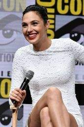 Gal Gadot - Warner Bros. Pictures Panel at Comic-Con in San Diego 07/22/2017