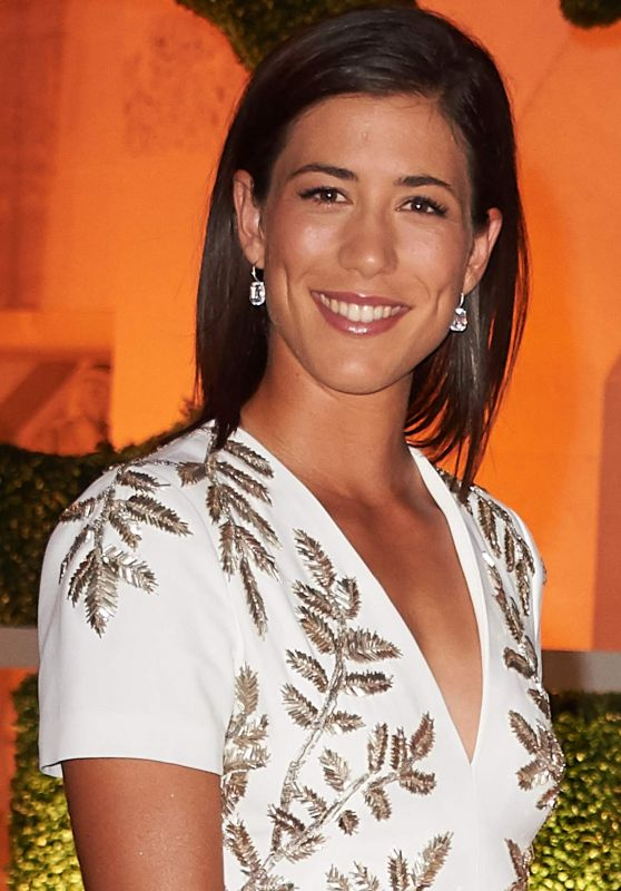 Garbine Muguruza - Wimbledon Champions Dinner in London 07/16/2017