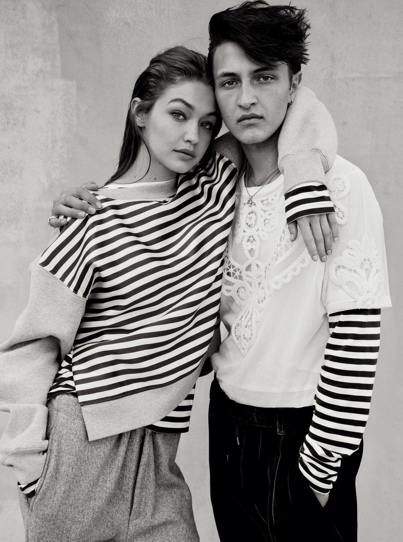Gigi Hadid & Zayn Malik - Inez & Vinoodh for US Vogue ...