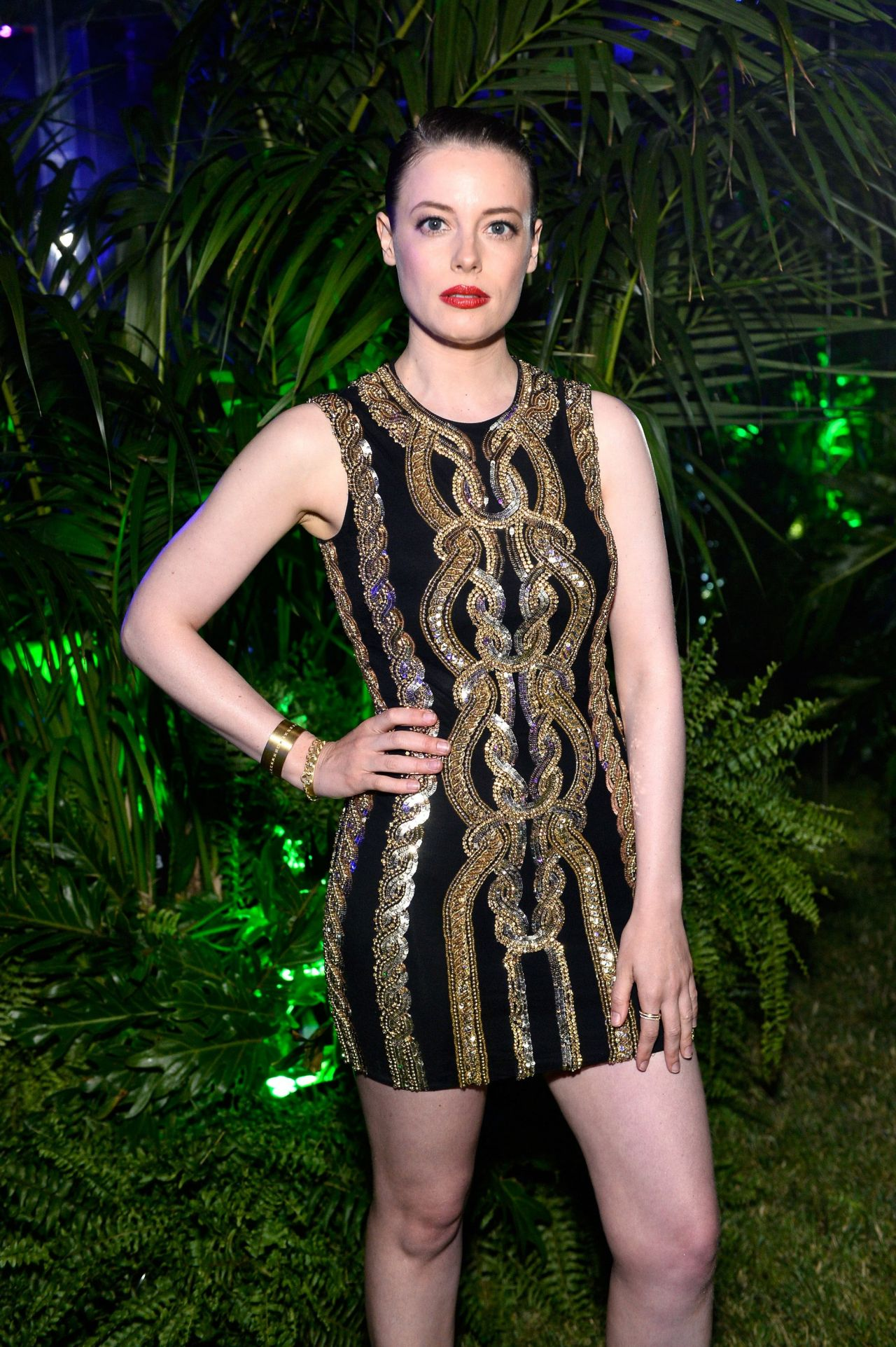 Gillian Jacobs Balmain Celebrates First Los Angeles