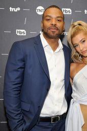 "Hailey Baldwin - Turner Networks ""Drop the Mic"" TV Show Panel, TCA Summer Press Tour in LA 07/27/2017"