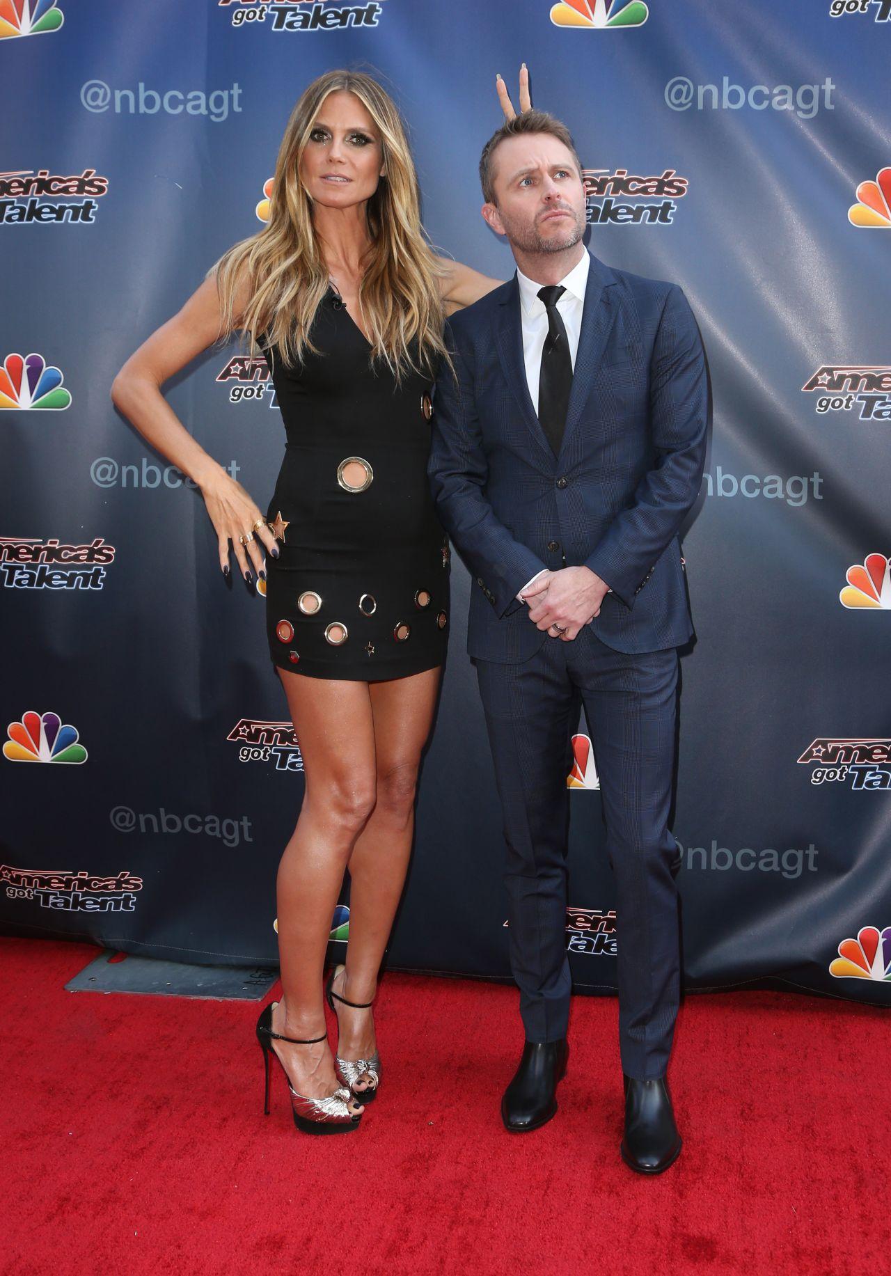 Heidi Klum America S Got Talent Universal Studio Lot