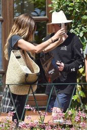 Heidi Klum and Boyfriend Vito Schnabel on holiday in Portofino 07/24/2017