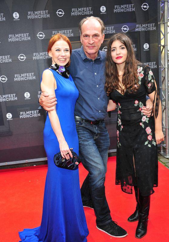 """Helen Woigk and Barbora Fiserova - """"Der Puppenspieler"""" Premiere at Munich Film Festival 06/30/2017"""