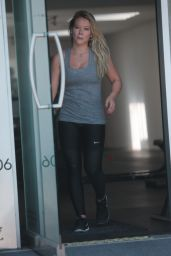 Hilary Duff at the Gym with ex Jason Walsh in West Hollywood 07/08/2017