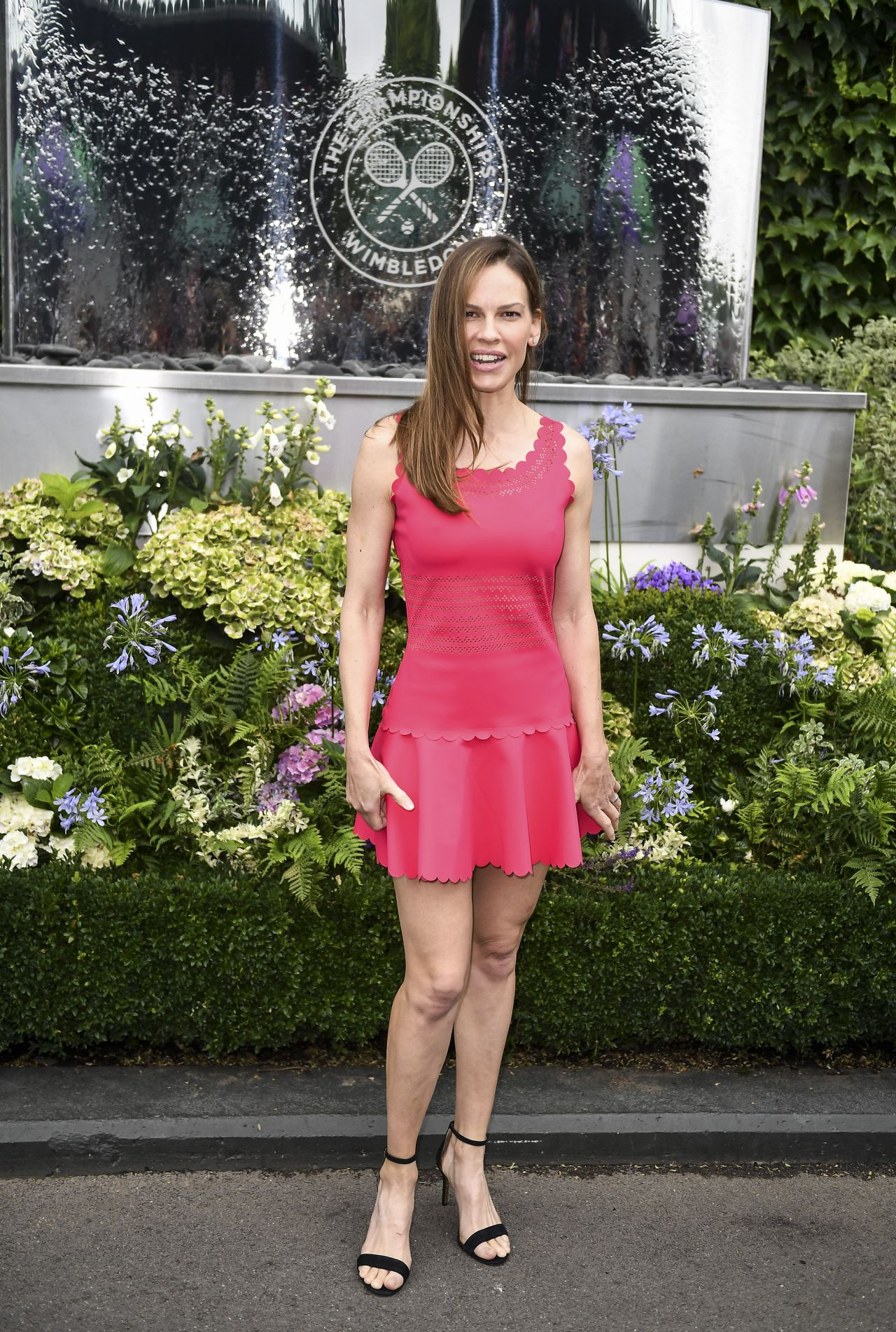 Hilary Swank – Wimbledon Championships in London Finals 07 ...