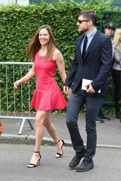 Hilary Swank – Wimbledon Championships in London Finals 07/16/2017