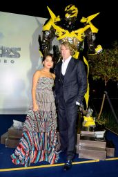 "Isabela Moner - ""Transformers: The Last Knight"" Premiere in Brazil 07/10/2017"