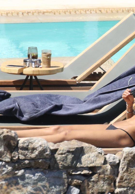 Izabel Goulart Bikini Candids - Mykonos 07/06/2017