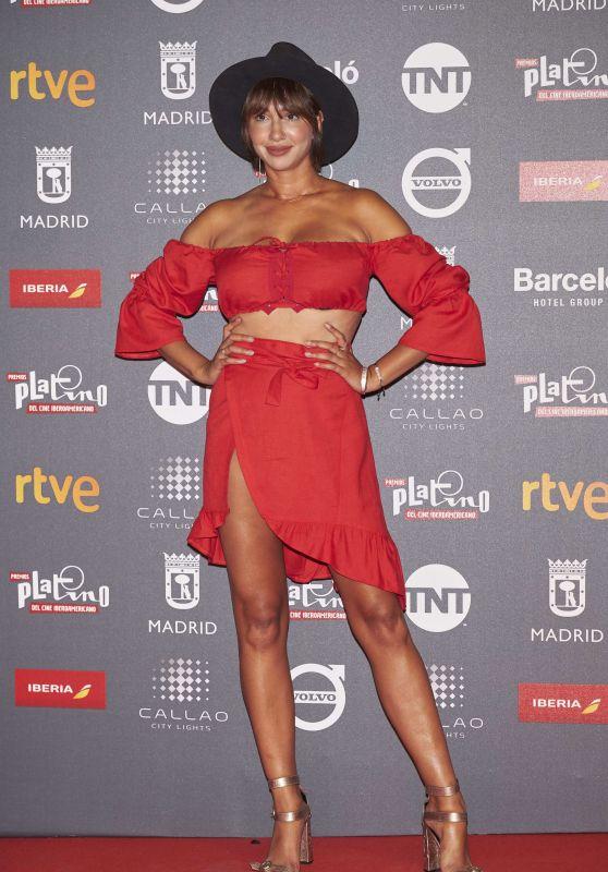 Jackie Cruz – Platino Awards in Madrid 07/20/2017