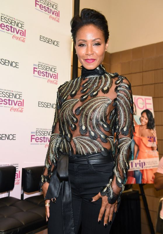 Jada Pinkett Smith - ESSENCE Festival in New Orleans 07/01/2017