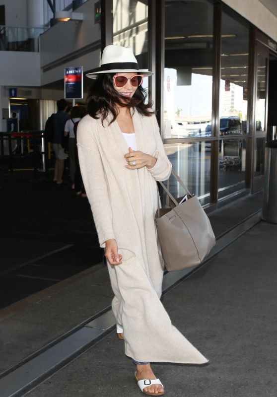 Jenna Dewan at LAX in Los Angele 07/14/2017